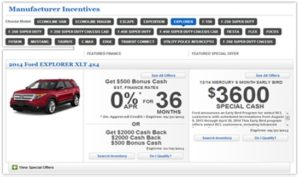 OEM Incentives & Rebates