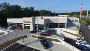 Dealership Aerial Video Footage