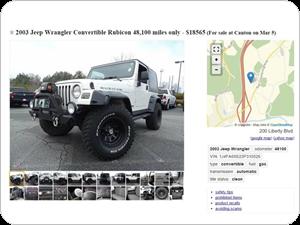 Automated Craigslist Vehicle Ad Posting