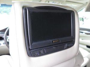 DVD Headrest