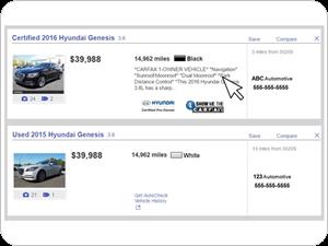 vehicle comments