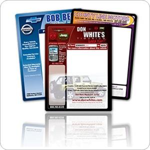 Used Car Window Stickers – Marketing Label